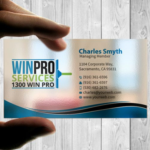 Business cards color werx branding custom solutions printing plastic card 20pt reheart Image collections